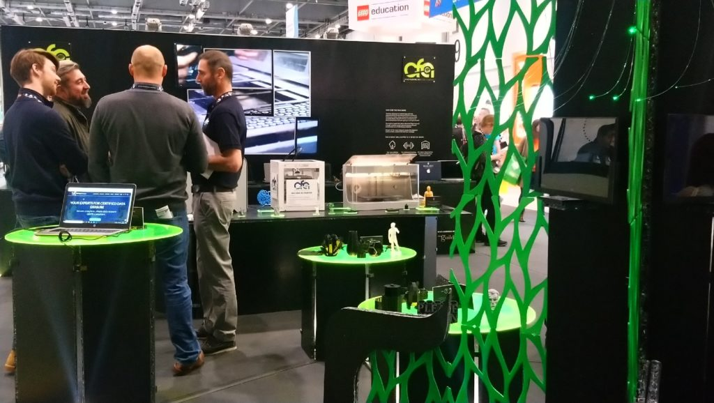 CFA Trading's stand at BETT 2020